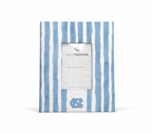 North Carolina Tar Heels School Stripes Picture Frame