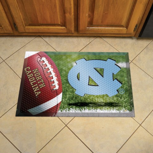North Carolina Tar Heels Scraper Door Mat