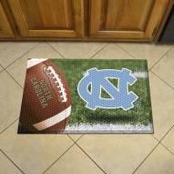 North Carolina Tar Heels Scraper Door Mat