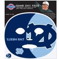 North Carolina Tar Heels Set of 4 Game Day Faces