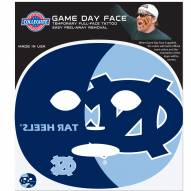 North Carolina Tar Heels Set of 8 Game Day Faces