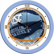 North Carolina Tar Heels Slam Dunk Wall Clock