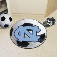 North Carolina Tar Heels Soccer Ball Mat