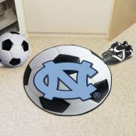 North Carolina Tar Heels Soccer Ball Mat
