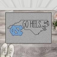 North Carolina Tar Heels Southern Style Starter Rug
