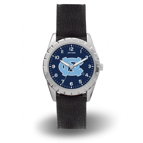 North Carolina Tar Heels Sparo Men's Nickel Watch