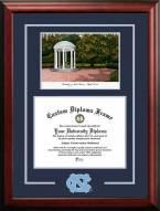 North Carolina Tar Heels Spirit Graduate Diploma Frame