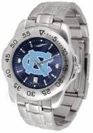 North Carolina Tar Heels Sport Steel AnoChrome Men's Watch