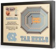 North Carolina Tar Heels 25-Layer StadiumViews 3D Wall Art