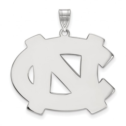 North Carolina Tar Heels Sterling Silver Extra Large Pendant