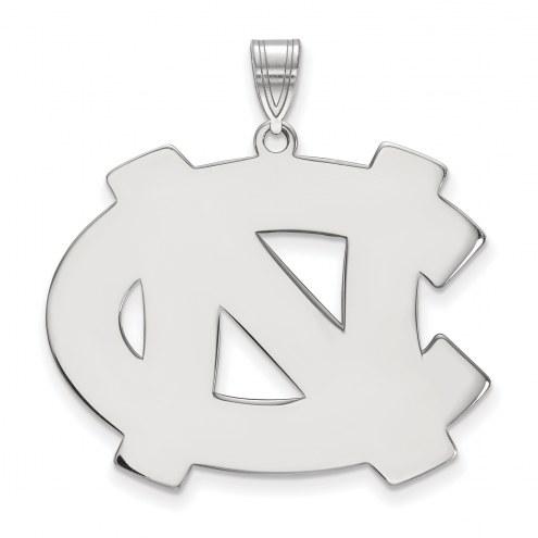 North Carolina Tar Heels Sterling Silver Extra Large Pendant