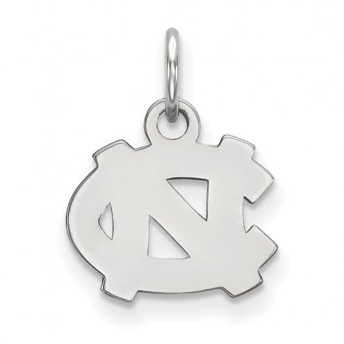 North Carolina Tar Heels Sterling Silver Extra Small Pendant