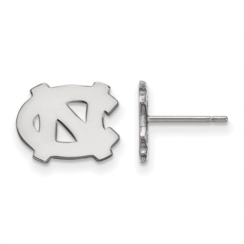 North Carolina Tar Heels Sterling Silver Extra Small Post Earrings