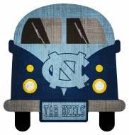 North Carolina Tar Heels Team Bus Sign