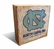 North Carolina Tar Heels Team Logo Block