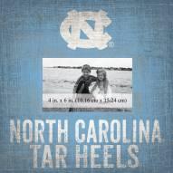 "North Carolina Tar Heels Team Name 10"" x 10"" Picture Frame"