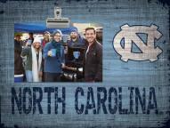 North Carolina Tar Heels Team Name Clip Frame