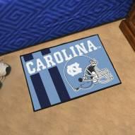 North Carolina Tar Heels Uniform Inspired Starter Rug