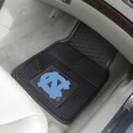 North Carolina Tar Heels Vinyl 2-Piece Car Floor Mats