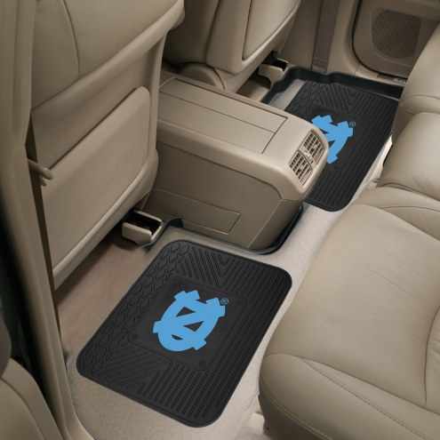 North Carolina Tar Heels Vinyl 2-Piece Rear Floor Mats