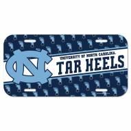 North Carolina Tar Heels License Plate