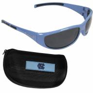 North Carolina Tar Heels Wrap Sunglasses and Case Set