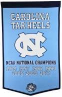 Winning Streak North Carolina Tarheels NCAA Basketball Dynasty Banner