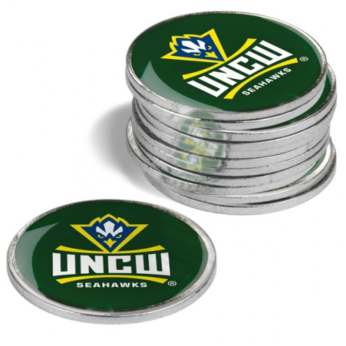 North Carolina Wilmington Seahawks 12-Pack Golf Ball Markers