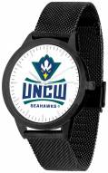 North Carolina Wilmington Seahawks Black Mesh Statement Watch