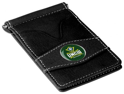 North Carolina Wilmington Seahawks Black Player's Wallet