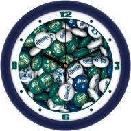 North Carolina Wilmington Seahawks Candy Wall Clock
