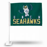North Carolina Wilmington Seahawks Car Flag