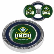 North Carolina Wilmington Seahawks Challenge Coin with 2 Ball Markers