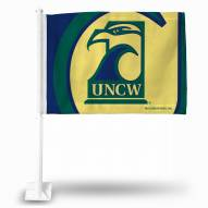 North Carolina Wilmington Seahawks College Car Flag