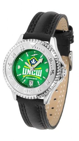 North Carolina Wilmington Seahawks Competitor AnoChrome Women's Watch
