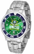 North Carolina Wilmington Seahawks Competitor Steel AnoChrome Color Bezel Men's Watch