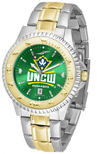 North Carolina Wilmington Seahawks Competitor Two-Tone AnoChrome Men's Watch
