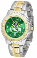 North Carolina Wilmington Seahawks Competitor Two-Tone AnoChrome Men's Watch