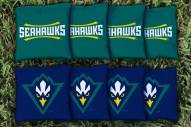 North Carolina Wilmington Seahawks Cornhole Bag Set