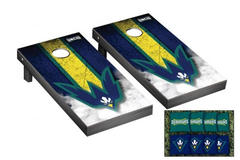 North Carolina Wilmington Seahawks Mini Cornhole Set