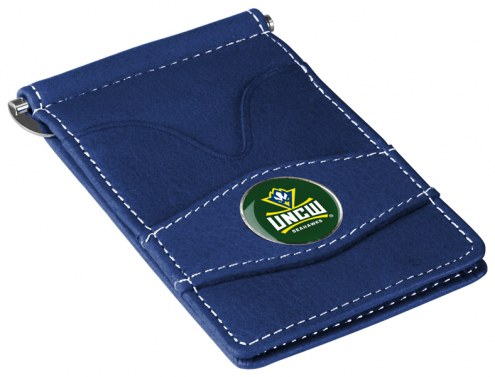 North Carolina Wilmington Seahawks Navy Player's Wallet