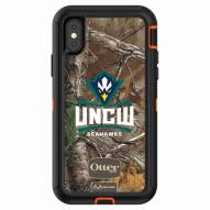 North Carolina Wilmington Seahawks OtterBox iPhone X Defender Realtree Camo Case