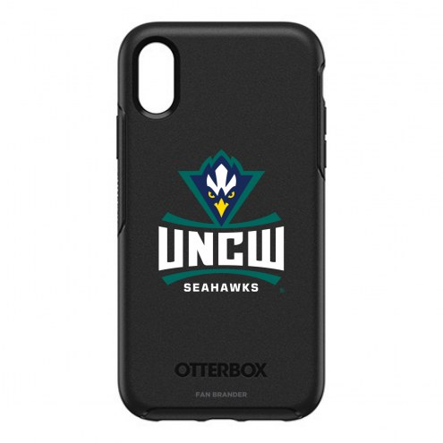 North Carolina Wilmington Seahawks OtterBox iPhone XR Symmetry Black Case