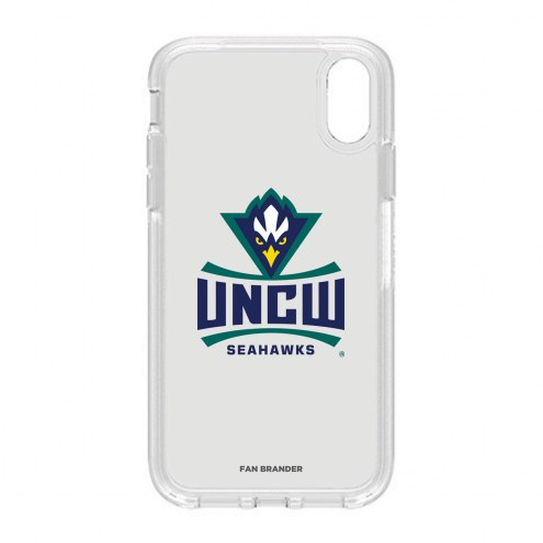 North Carolina Wilmington Seahawks OtterBox iPhone XR Symmetry Clear Case