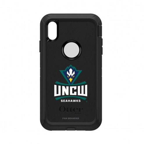North Carolina Wilmington Seahawks OtterBox iPhone XS Max Defender Black Case