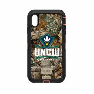 North Carolina Wilmington Seahawks OtterBox iPhone XS Max Defender Realtree Camo Case