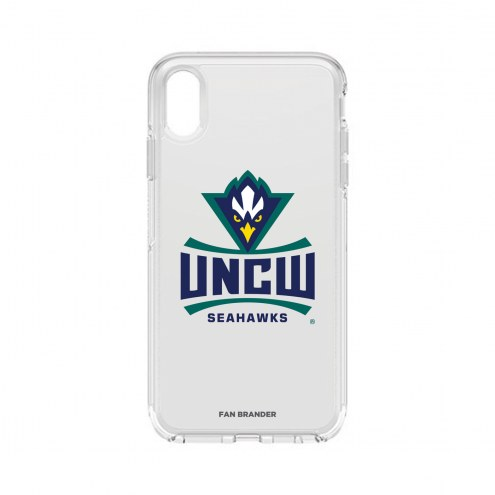 North Carolina Wilmington Seahawks OtterBox iPhone XS Max Symmetry Clear Case