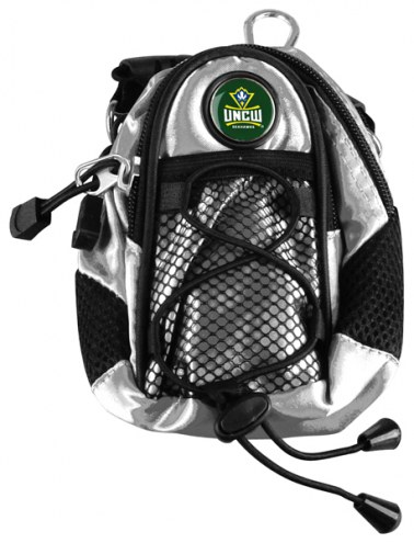 North Carolina Wilmington Seahawks Silver Mini Day Pack