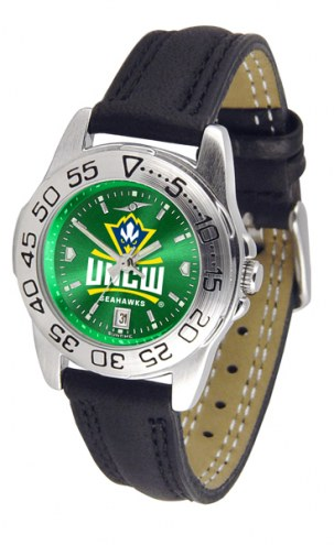 North Carolina Wilmington Seahawks Sport AnoChrome Women's Watch