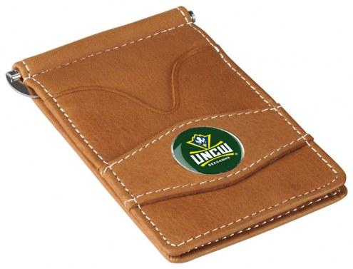 North Carolina Wilmington Seahawks Tan Player's Wallet